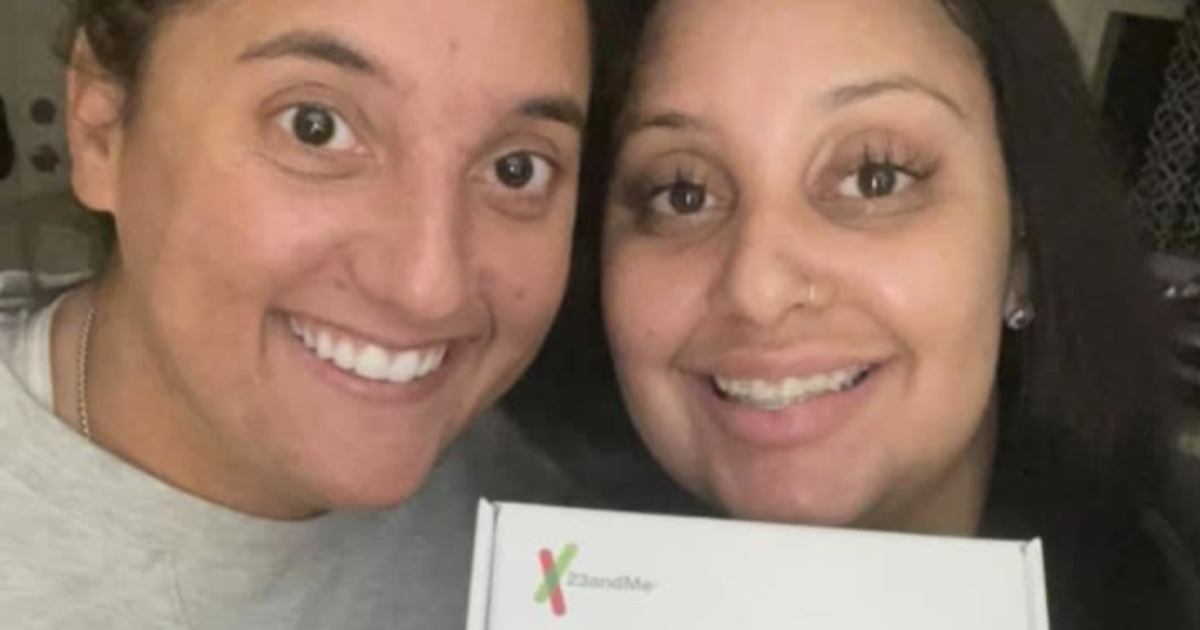 Coworkers find out they're sisters after DNA tests