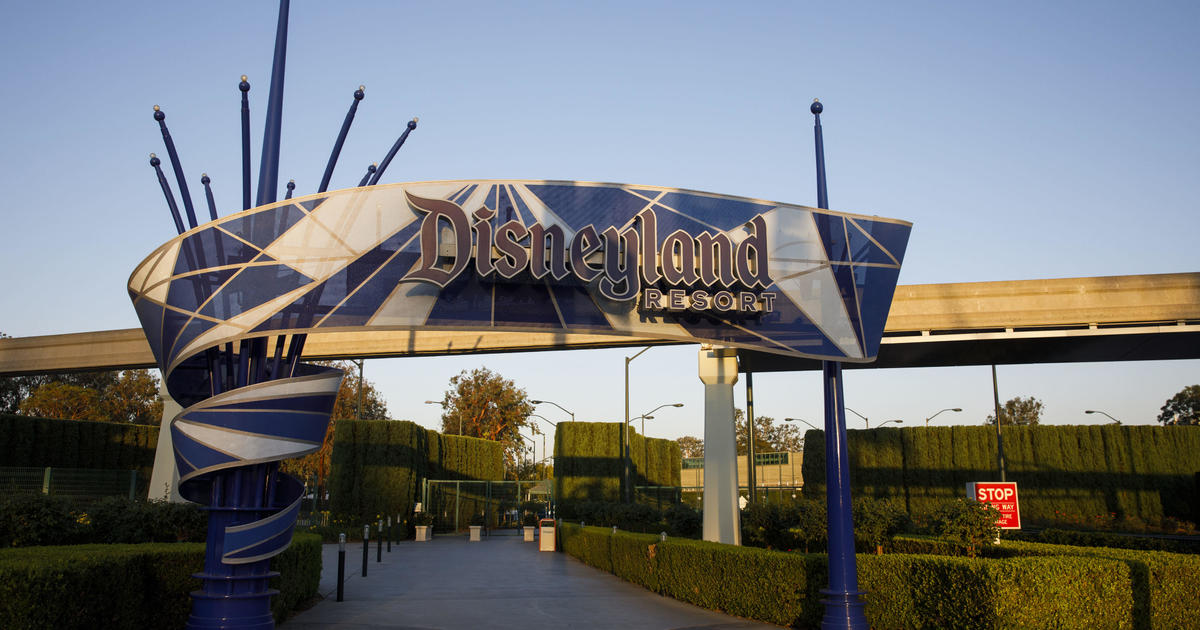 Disneyland and other California theme parks could reopen as soon as April 1 - CBS News