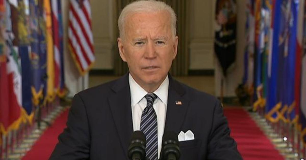 Biden addresses devastating toll of the coronavirus pandemic