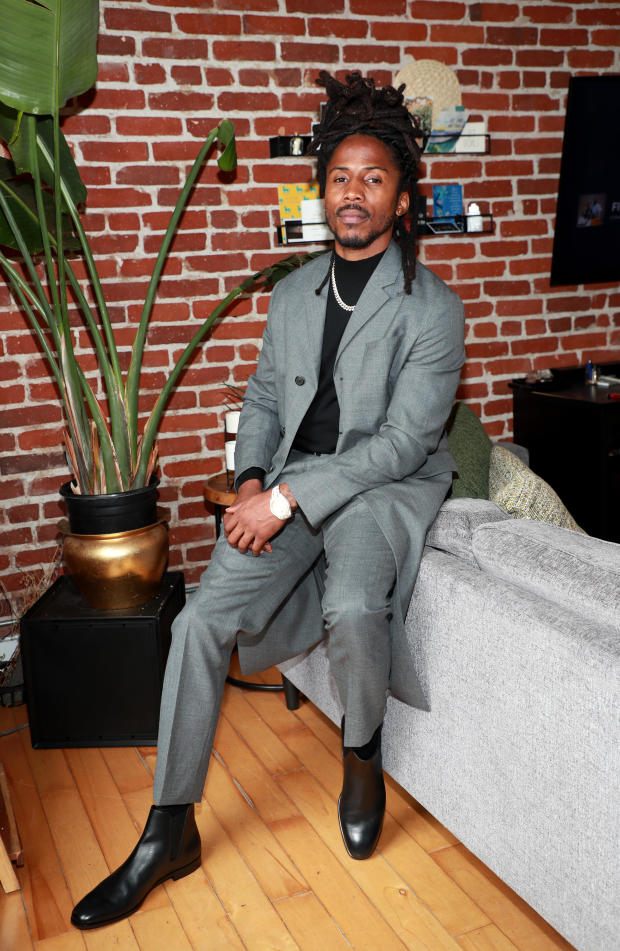 Celebrities Get Ready For The 2021 GRAMMY Awards