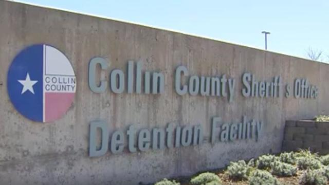 Collin County detention facility.