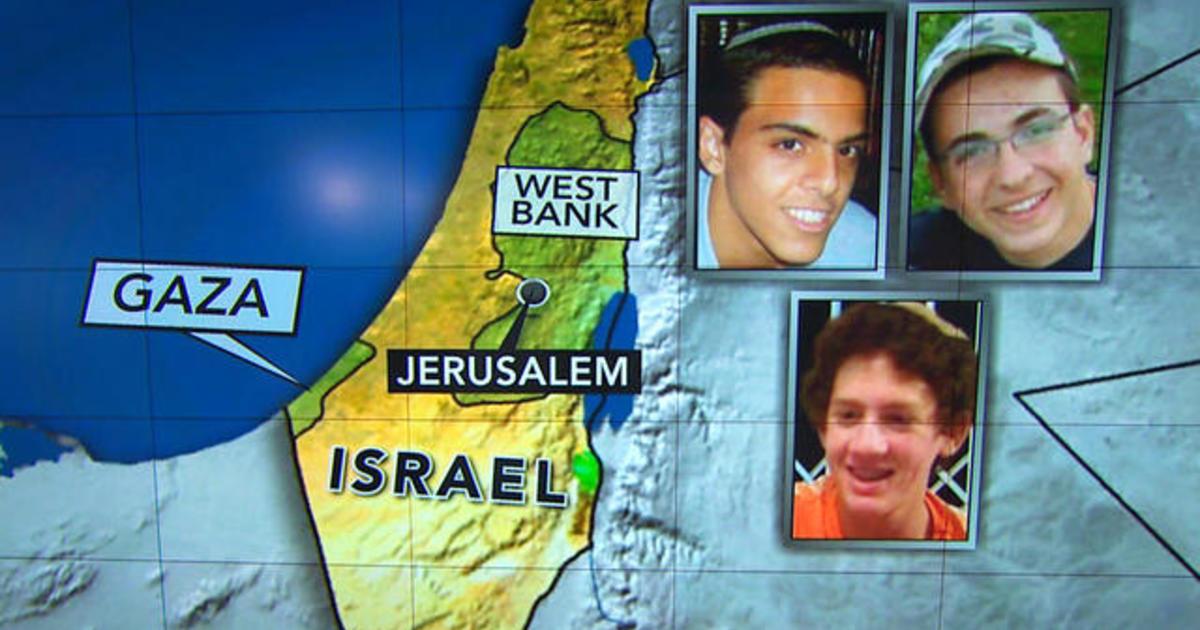 Israel airstrikes target Gaza after missing teens' bodies found