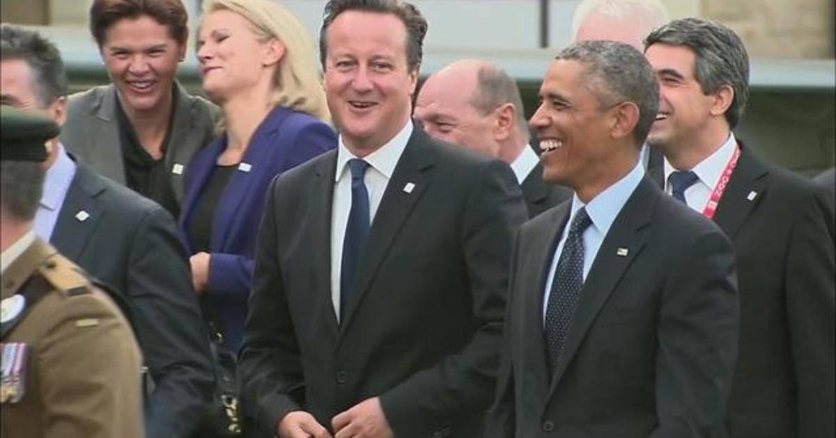 Obama says NATO unified on ISIS threat, Ukraine crisis