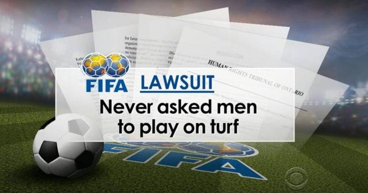 """Top women's soccer players launch """"turf war"""" against World Cup"""
