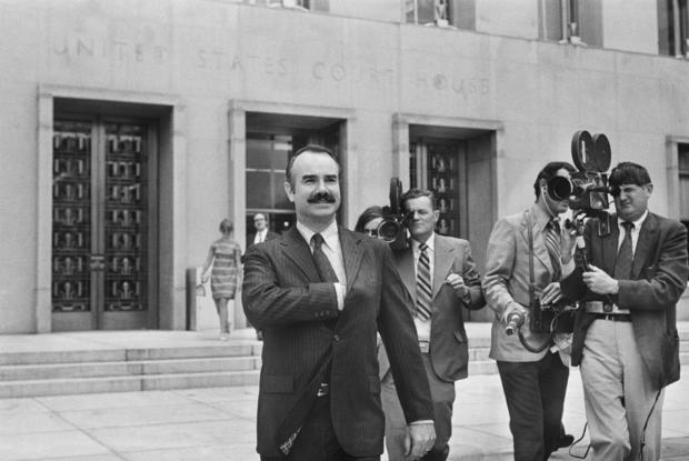 G. Gordon Liddy Leaves U. S. District Court