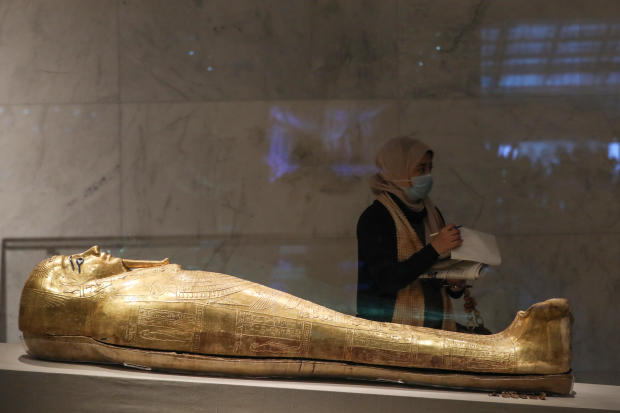 The National Museum of Egyptian Civilisation in Cairo