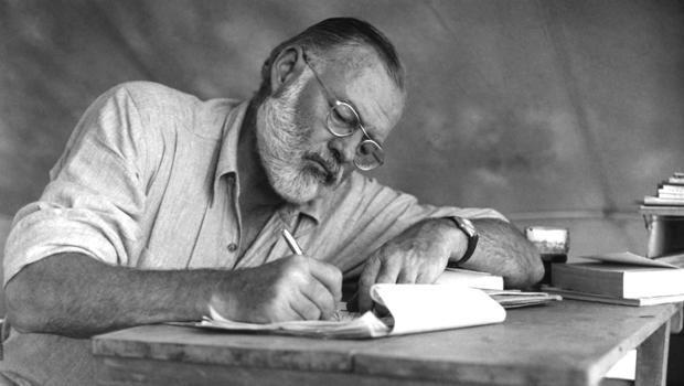 Hemingway On Safari