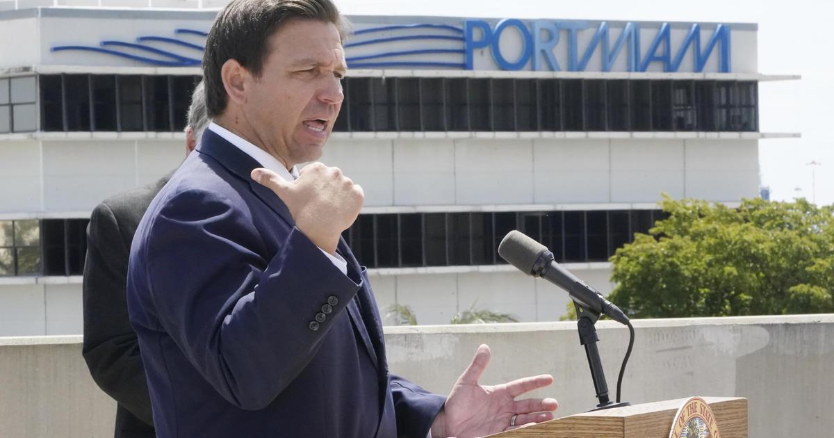 Florida Governor Ron DeSantis suspends all local COVID emergency mandates
