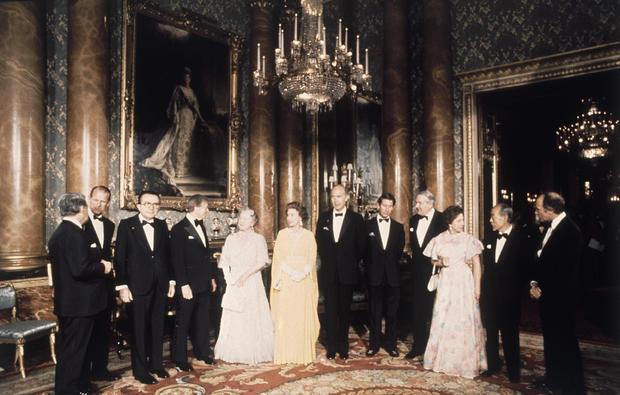 Queen Elizabeth II Royal Family  Guests