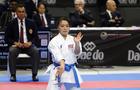 Kokumai Sakura from USA seen in action during the women's