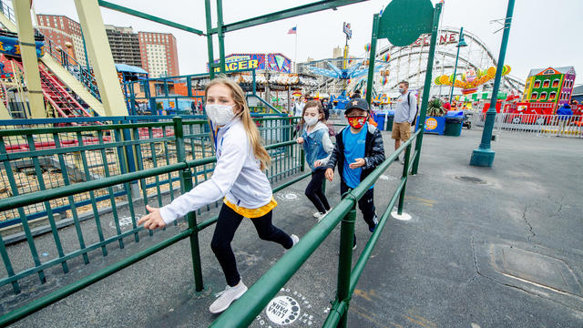 Coney Island Amusement Parks Reopen After Long Pandemic Shutdown
