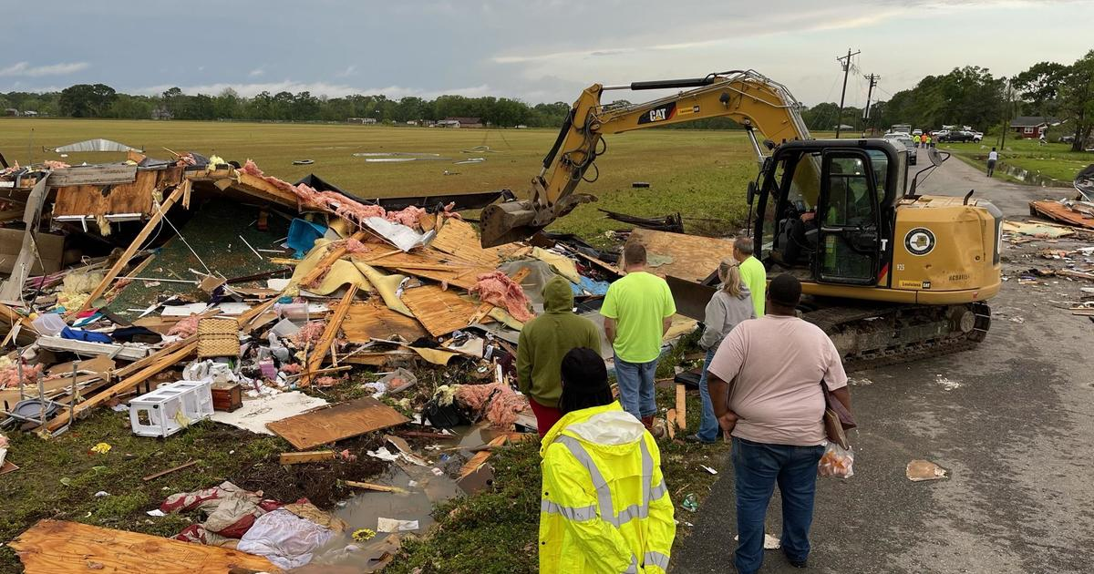 At least two killed as severe weather sweeps through Gulf Coast