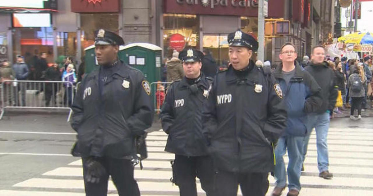 NYPD gears up for massive New Year's Eve celebration
