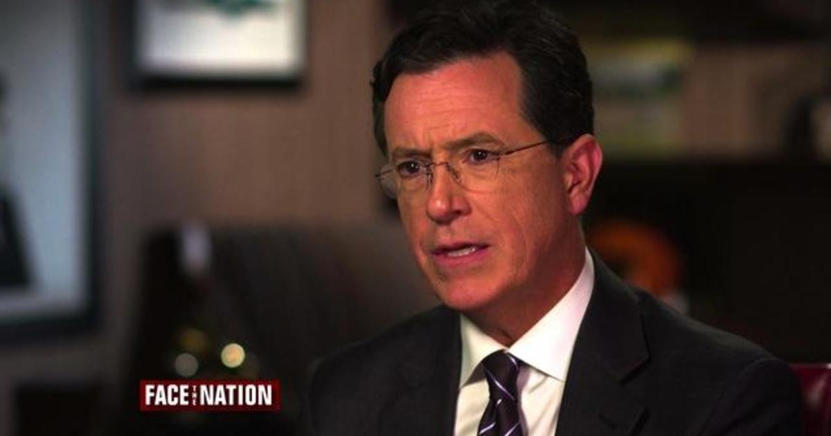 Stephen Colbert on his reaction to the Charleston church shooting