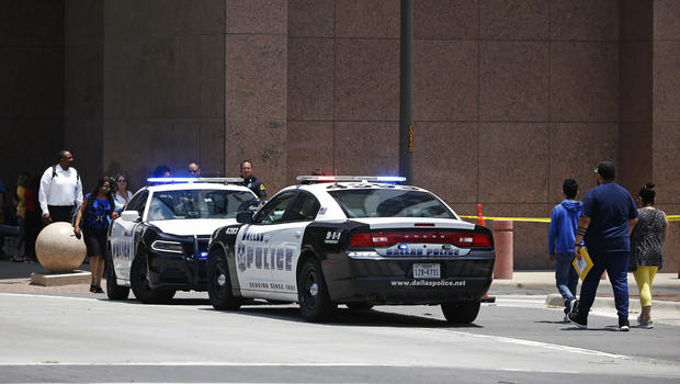 Gunman Dead After Shooting At Federal Courthouse In Dallas