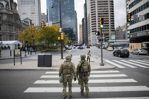 National Guard Patrols In Philadelphia After Police Killing Of Walter Wallace, Jr. Sparks Nightly Protests