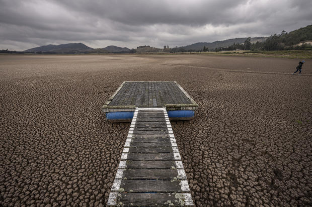 Suesca Lagoon In Danger of Drying Up