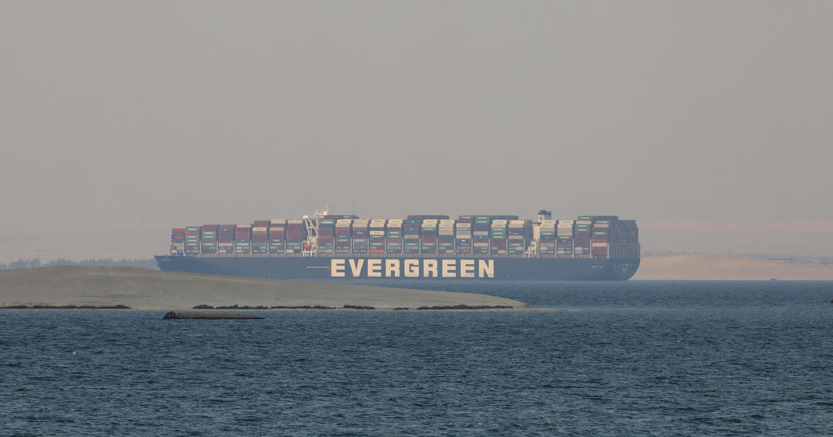 Image Egyptian authorities impound Ever Given, the ship that blocked Suez Canal amid financial dispute