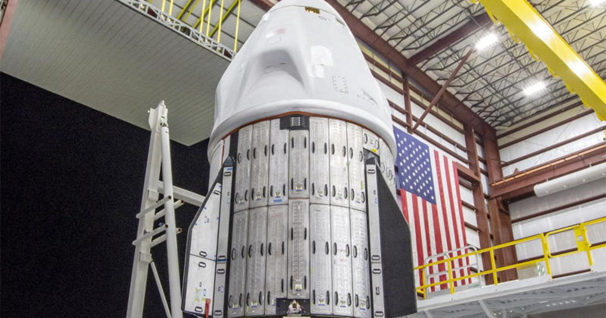 SpaceX Crew Dragon released for launch to a space station next week