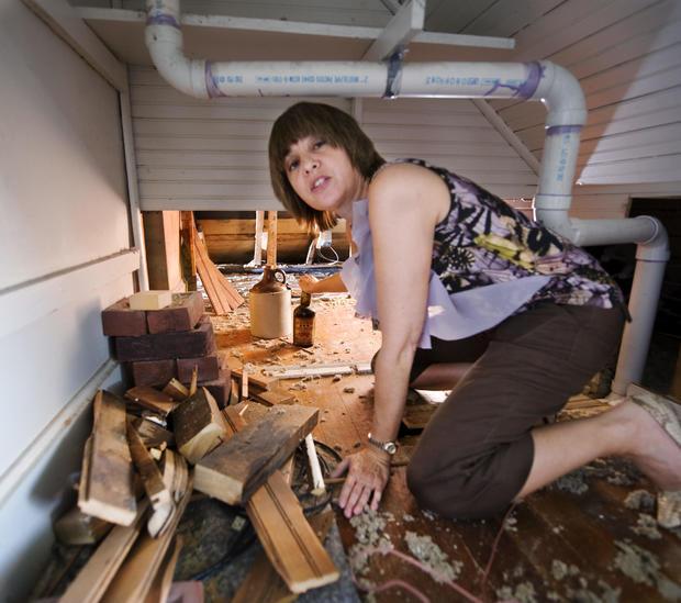 Mary Shanesy booze attic