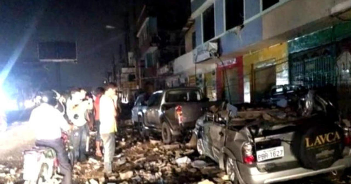 Massive Ecuador quake leads to widespread damage