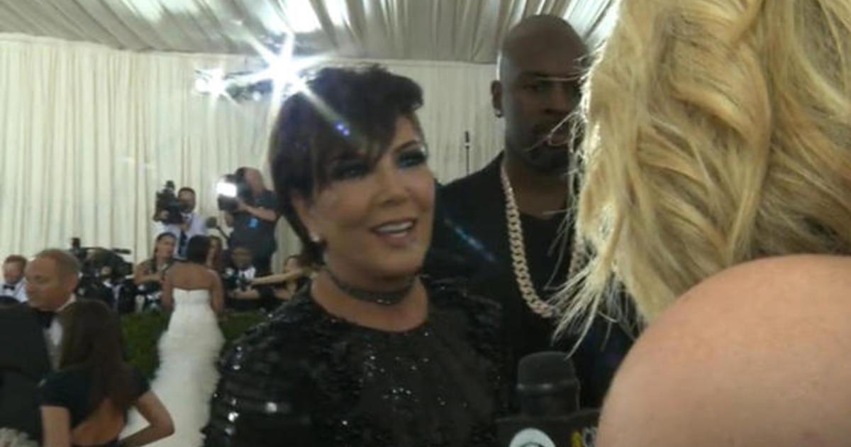 Kris Jenner on how she got ready for the Met Gala 2016