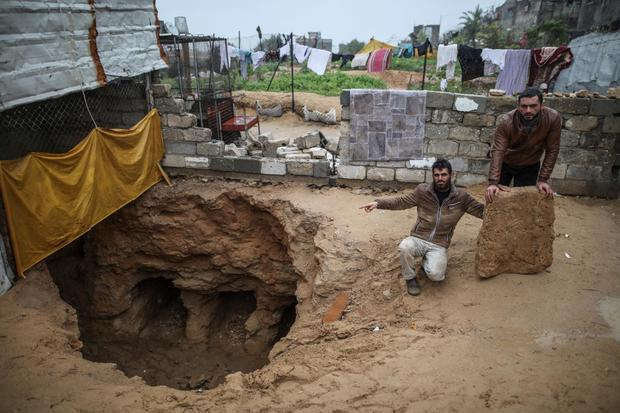 Burial ground Gaza