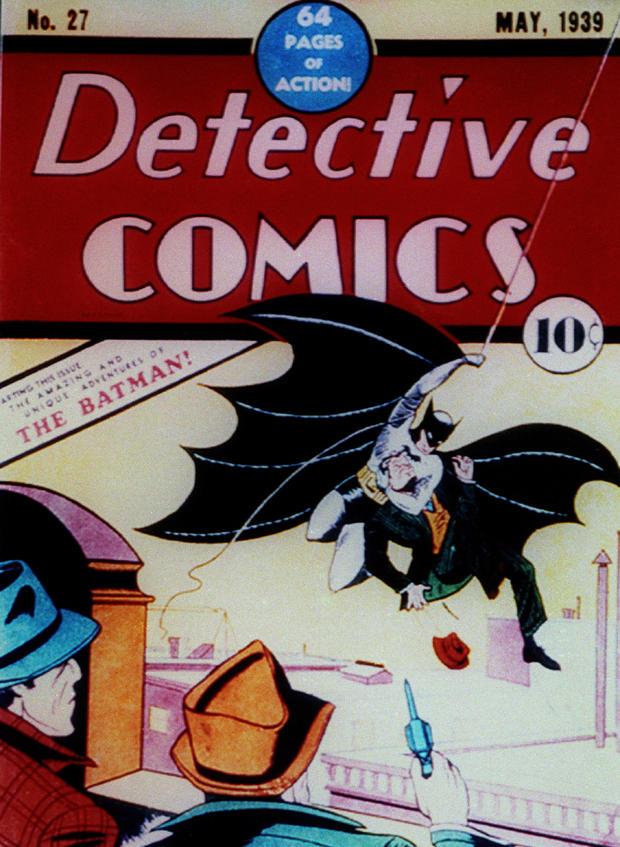 DETECTIVE COMICS FRONT COVER