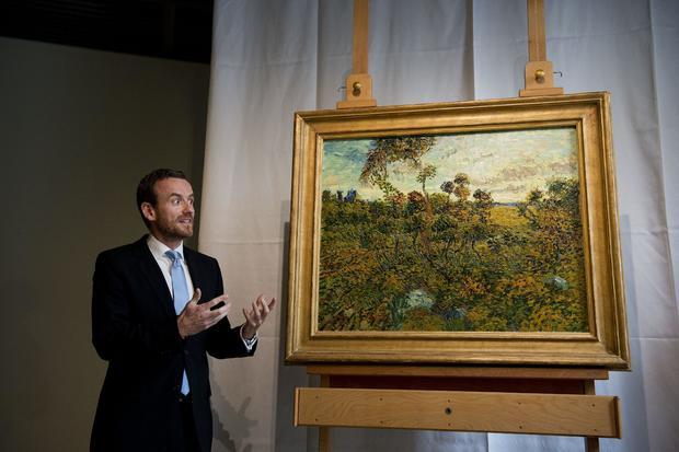 Alex Ruger Sunset Van Gogh