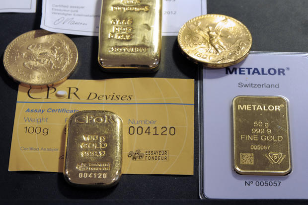 Gold found in france