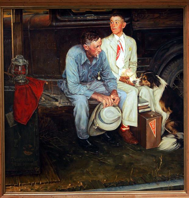 Missing Norman Rockwell Painting Found After 35 Years