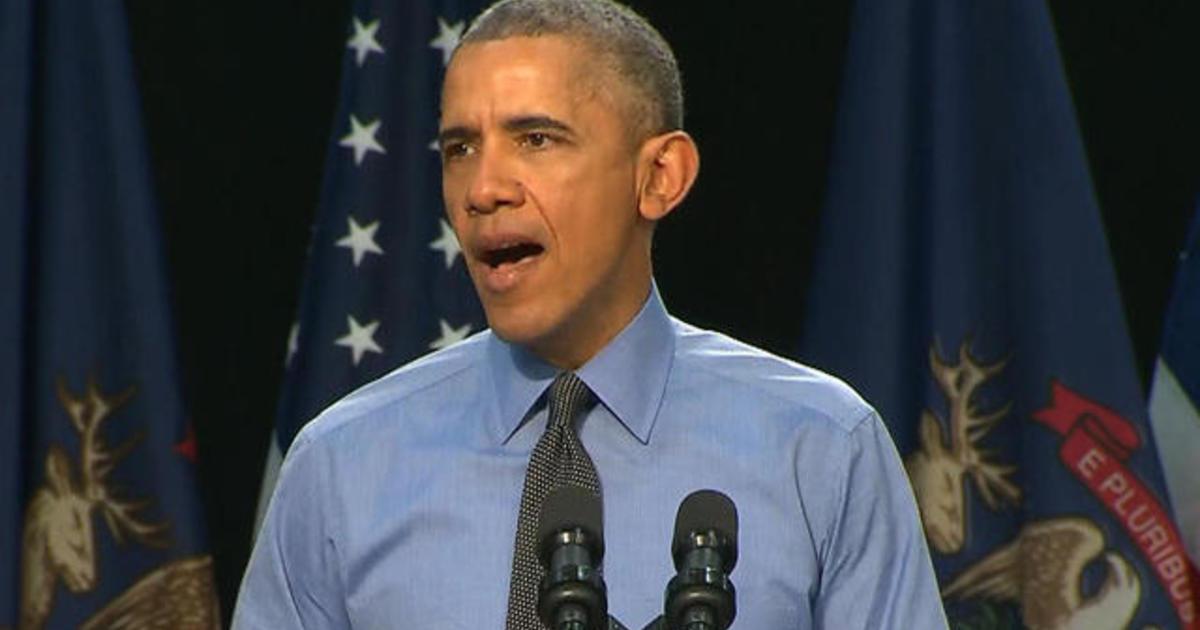 President Obama addresses Flint water crisis