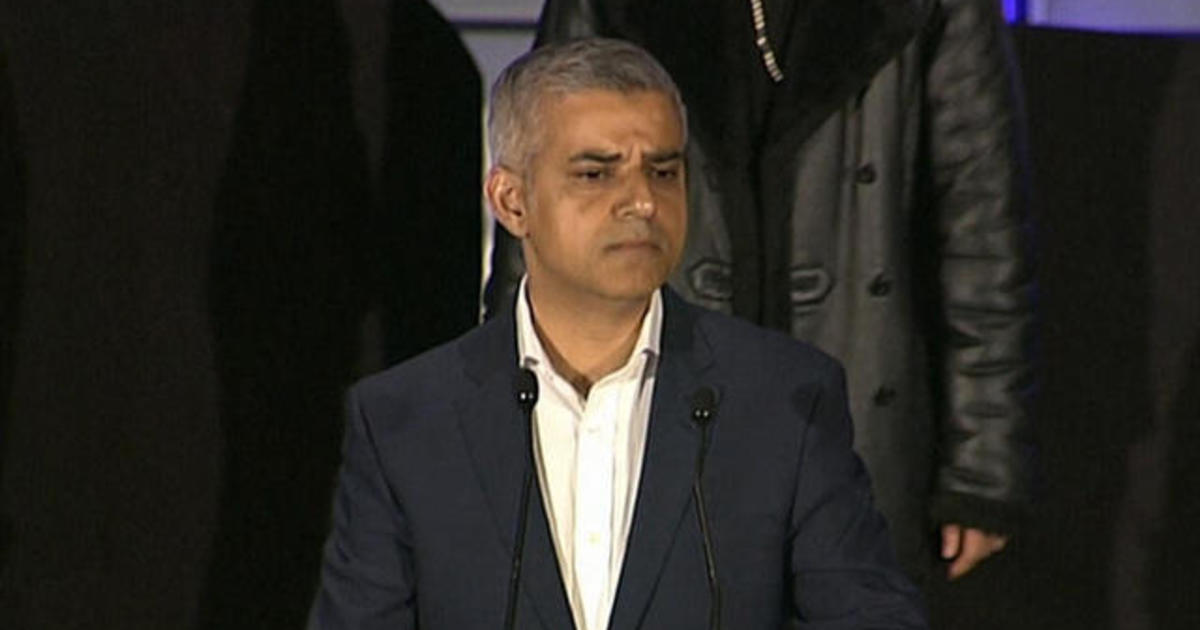 London elects 1st Muslim mayor of western capital