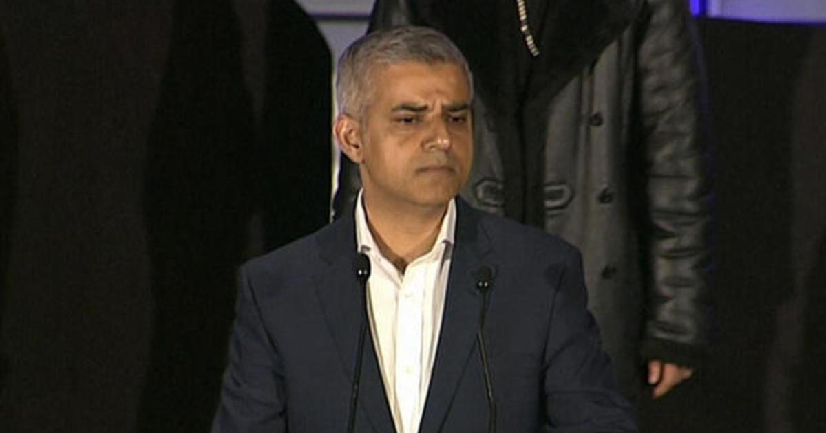 London elects 1st Muslim mayor of western capital