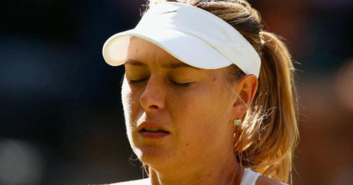 Tennis star Maria Sharapova banned for doping scandal
