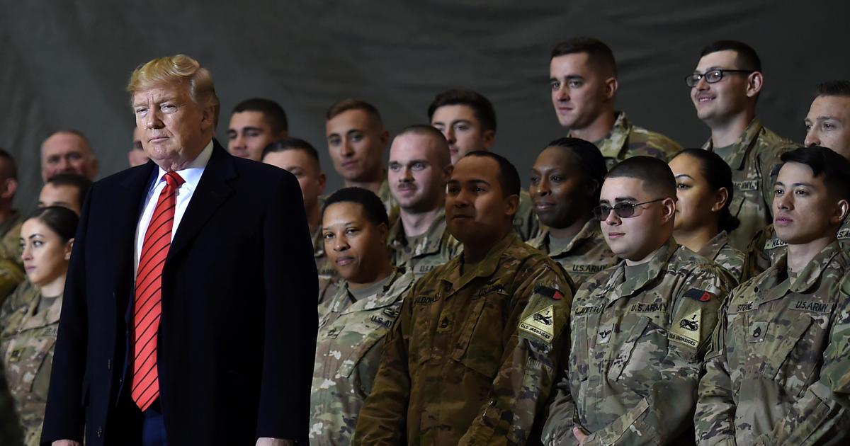 Trump backs Afghanistan withdrawal, breaking with GOP allies