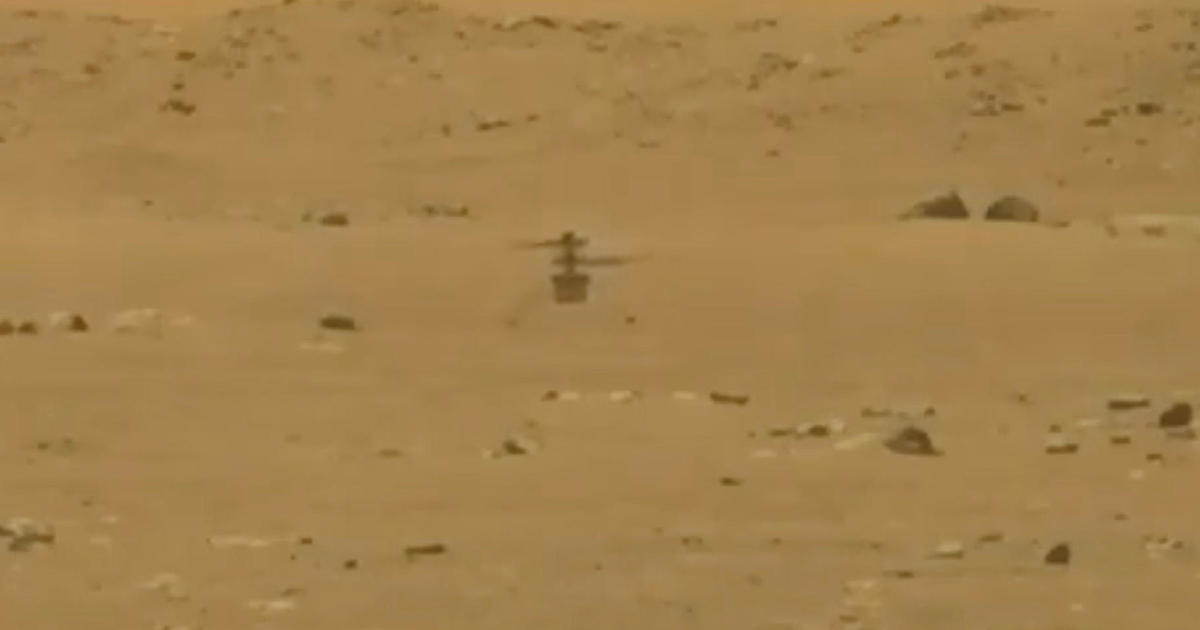 NASA's Ingenuity helicopter makes maiden flight on Mars