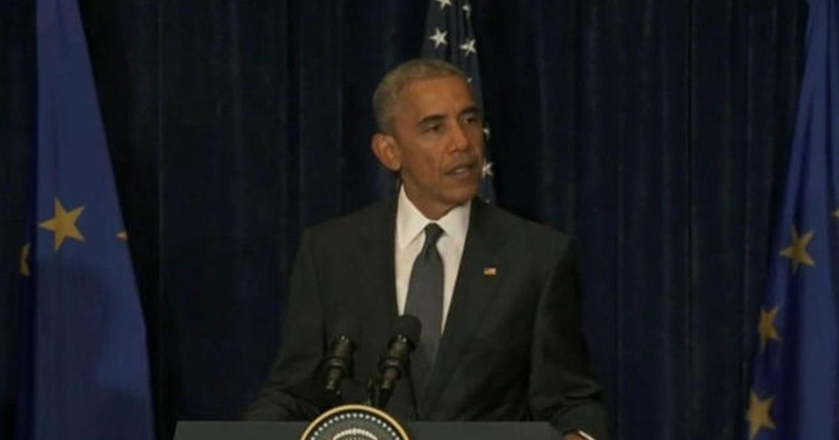 """President Obama responds to """"despicable"""" Dallas ambush"""