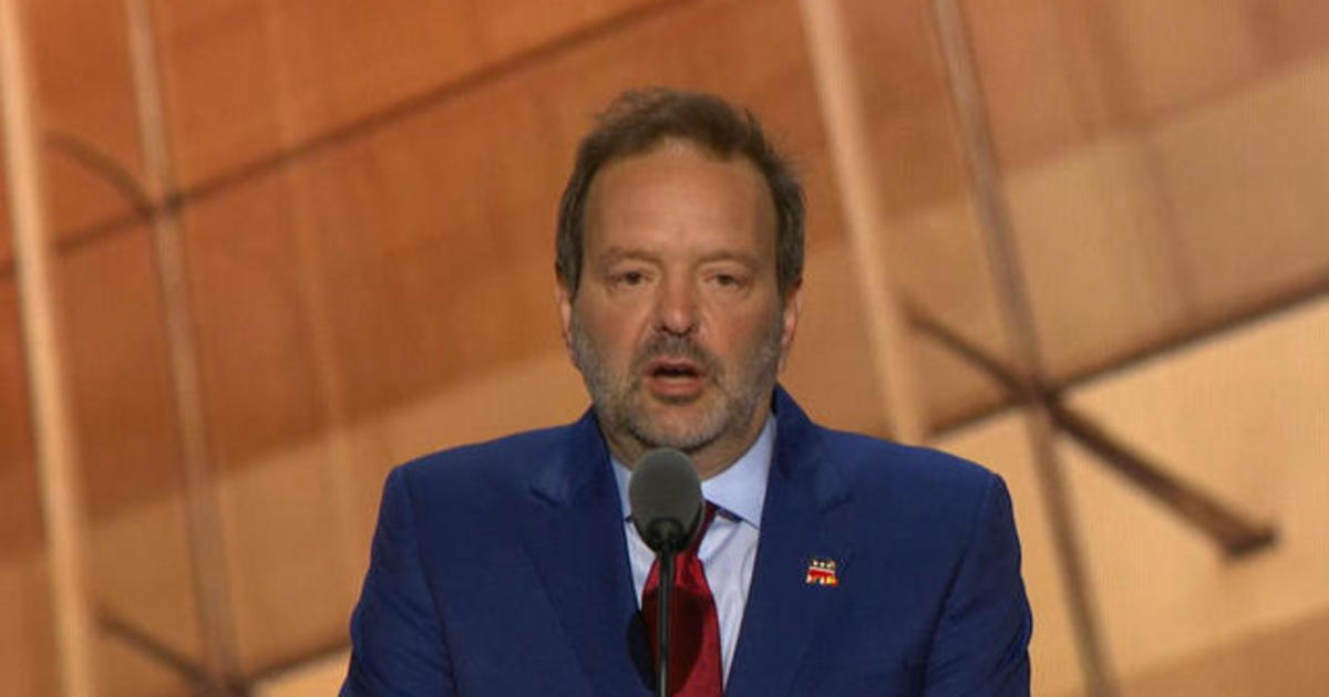 """""""Mystery man"""" speaks at the GOP convention"""