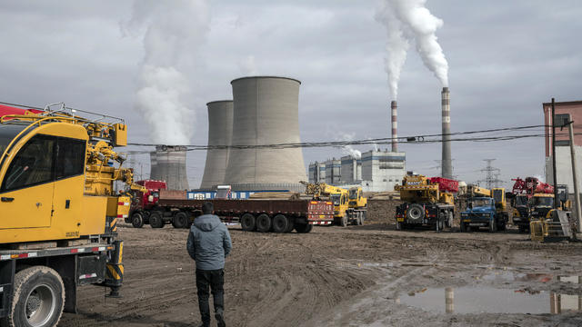 Coal Fired Power Plant in Jiayuguan
