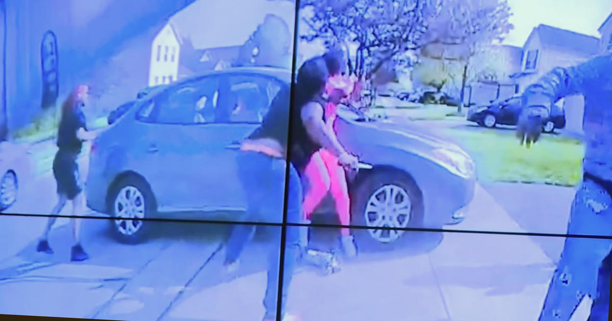 More bodycam video released after fatal shooting of girl in Ohio