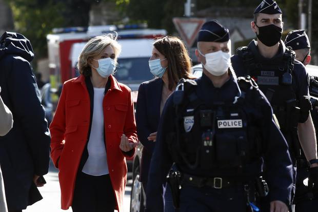 France Policewoman Stabbed