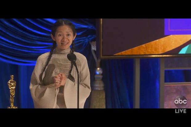 Chloe Zhao — 93rd Academy Awards