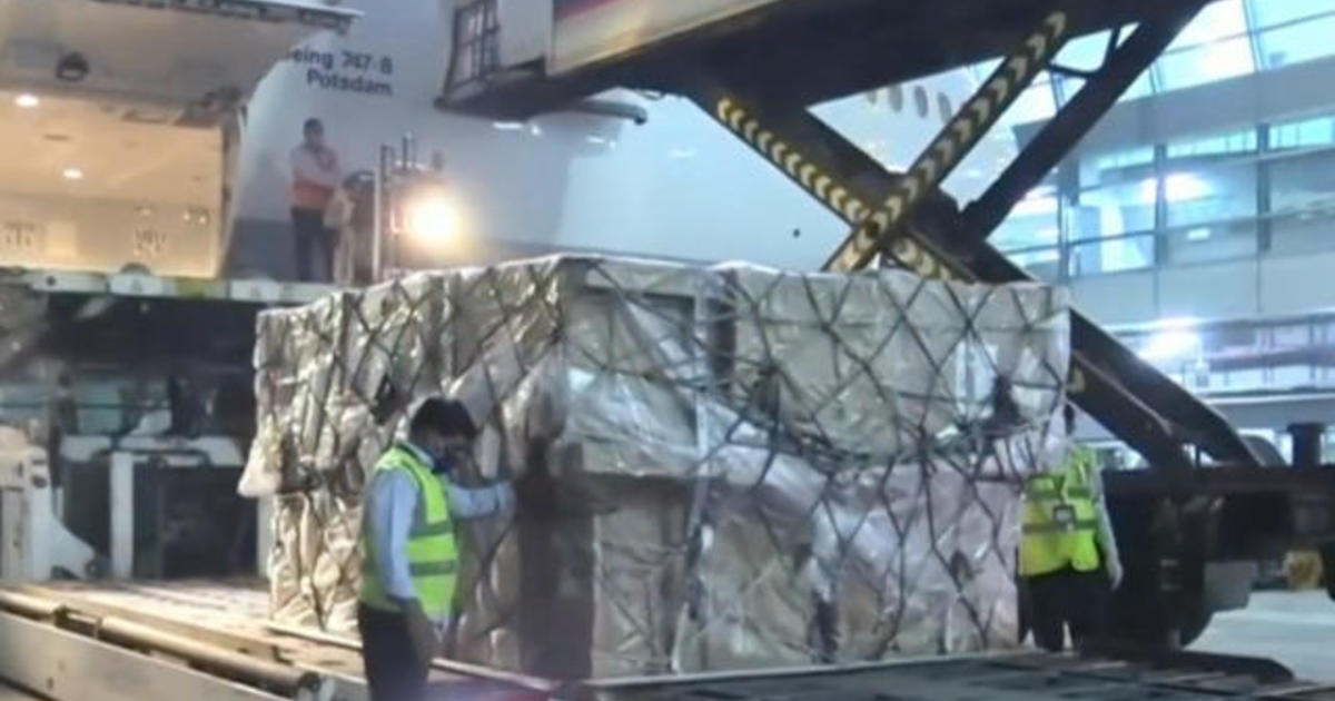 Video: Relief supplies arrive as India battles record COVID surge