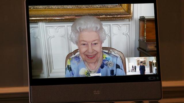 Virtual audience at Buckingham Palace