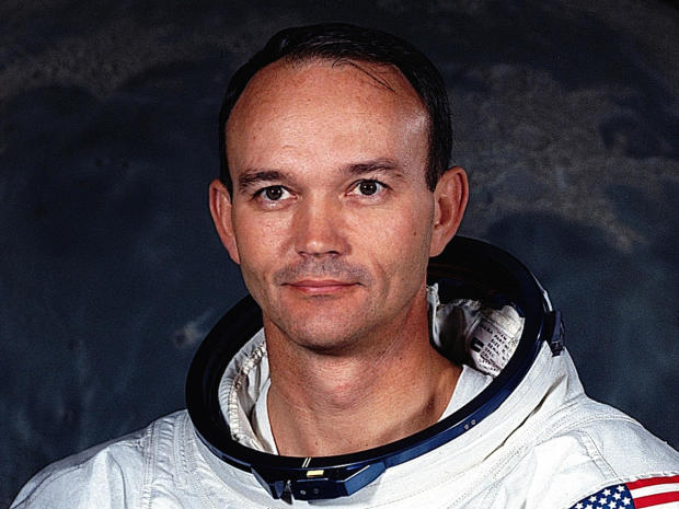 Apollo 11 astronaut Michael Collins is seen in his official portrait in July 1969.