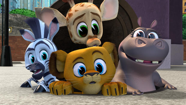 "Available May 27 on Hulu: ""Madagascar: A Little Wild"" Season 3"