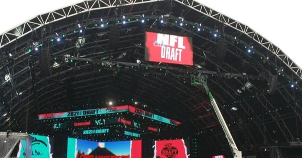 NFL draft returns in-person with COVID-19 restrictions following previous year's virtual event