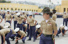 Female Class Of Marines Graduates From Camp Pendleton Training