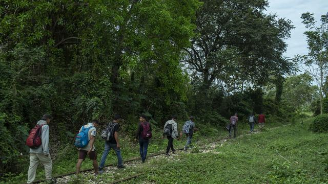 Central American Migrants Travel To Reach U.S. Border As Biden Ends Trump 'Remain In Mexico' Rule